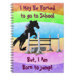 Fun Born to Jump Equestrian Journal