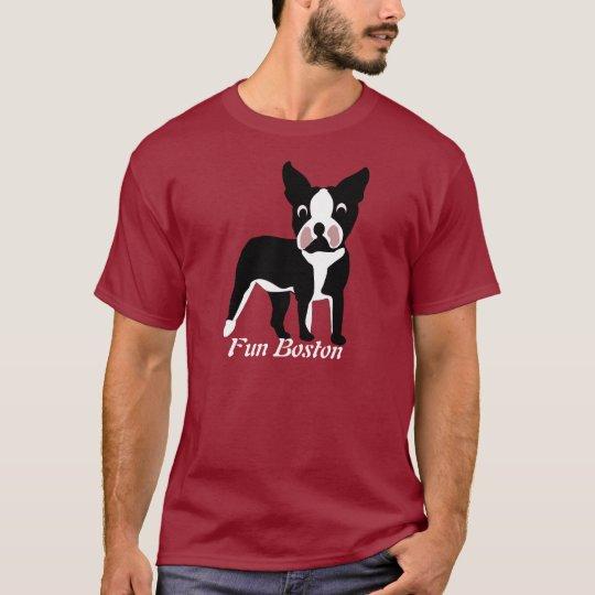 Fun Boston Terrier T-Shirt