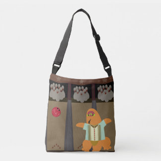 Fun Bowling Monster Crossbody Bag