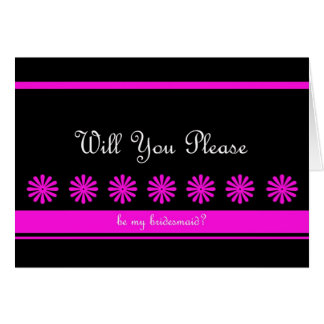 Fun Bridesmaid Card
