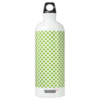 Fun Bright and Bold Green Dot Pattern SIGG Traveler 1.0L Water Bottle