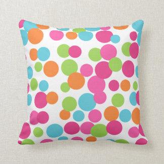 Fun Bright Dots Pillow