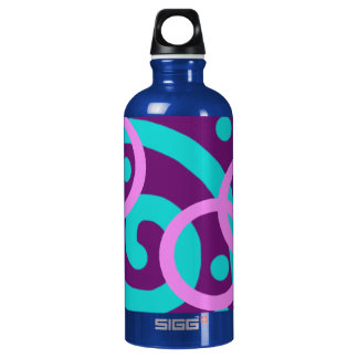 fun, brightly colored SIGG traveler 0.6L water bottle