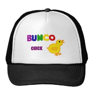 Fun Bunco Chick Art Trucker Hat