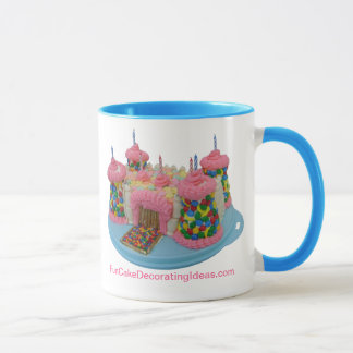 Fun Cake Decorating Ideas - Castle Cake Mug