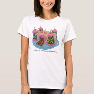 Fun Cake Decorating Ideas - Castle Cake T-shirt