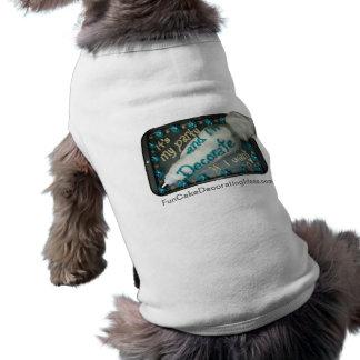 Fun Cake Decorating Ideas - Icing Bag Doggie Shirt