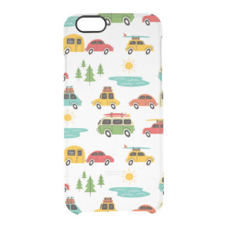 Fun Camping Summer Vacation iPhone 6 Clear iPhone 6/6S Case