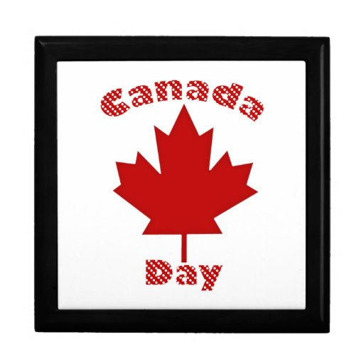 Fun Canada Day Tees and Gifts for Kids and Adults Keepsake Boxes
