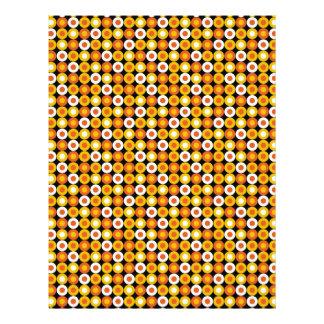 Fun Candy Corn Halloween colors Letterhead