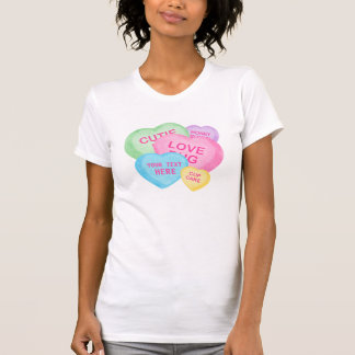 Fun Candy Hearts T-Shirt