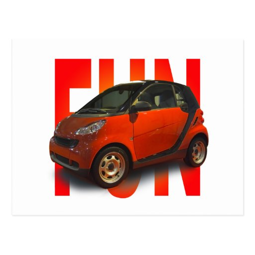 fun car postcard