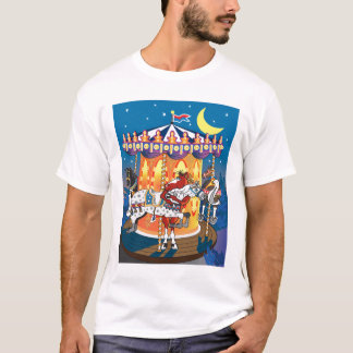 Fun Carousel Horse illustration T-Shirt
