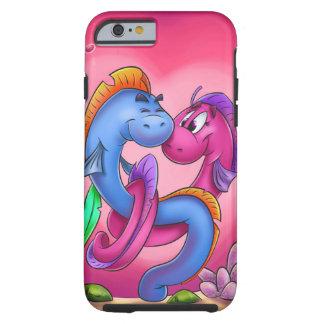 Fun cartoon eel fish iPhone Tough iPhone 6 Case