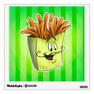 Fun cartoon french fries wall decor