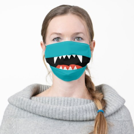 FUN CARTOON MONSTER MOUTH | FACE MASK