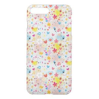 fun cartoon pattern iPhone 7 plus case