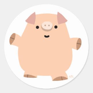 Fun Cartoon Pig sticker