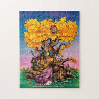 fun cartoon tree puzzle
