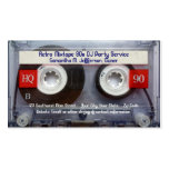 Fun Cassette Tape Business Card
