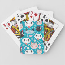 Fun Cat Faces Playing Cards