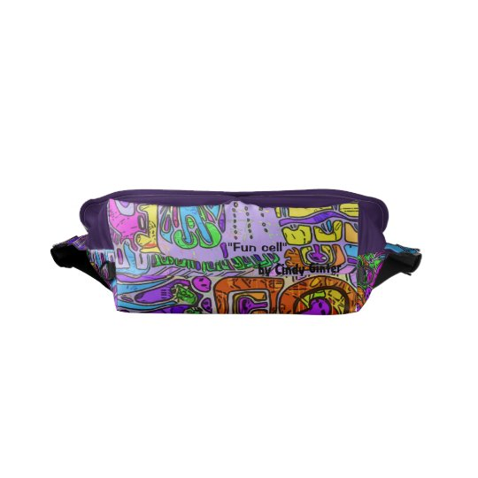 Fun Cell Messenger Bag