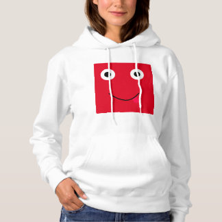 Fun Character Hoodie For Women: Red