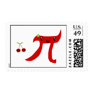 Fun Cherry  Pi or Cherry Pie Postage