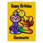Fun Chess Greeting Card