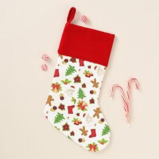 Fun Christmas Pattern Christmas Stocking