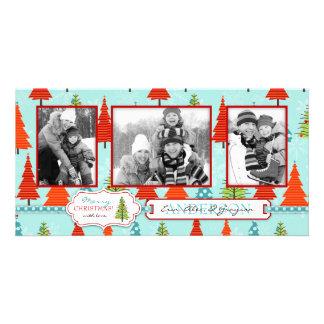 Fun Christmas Photo Card Trio