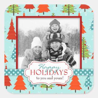 Fun Christmas Photo Sticker