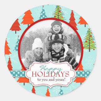 Fun Christmas Photo Sticker 2
