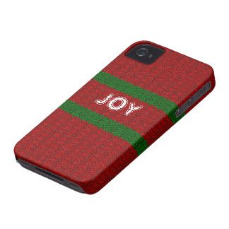 Fun Christmas Sweater Look Custom Name Cover Case-Mate iPhone 4 Cases