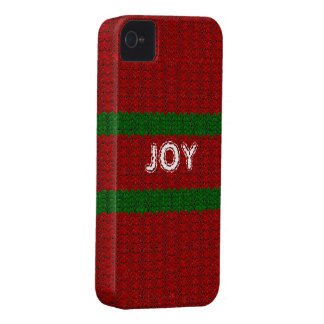 Fun Christmas Sweater Look Custom Name Cover iPhone 4 Cover