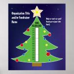 Fun Christmas Tree Thermometer Poster