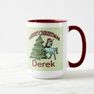 Fun Christmas Unicorn Coffee Mug