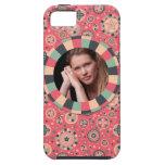 Fun Circle frame - vintage candy - pattern iPhone 5 Case