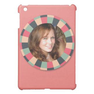 Fun Circle frame - vintage candy - pink2 iPad Mini Case