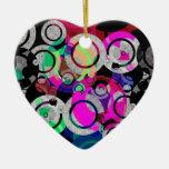 Fun Circles and Oddities Christmas Ornaments