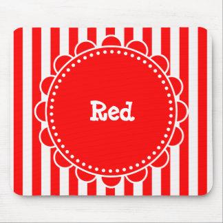 Fun Circus Red Mousepad