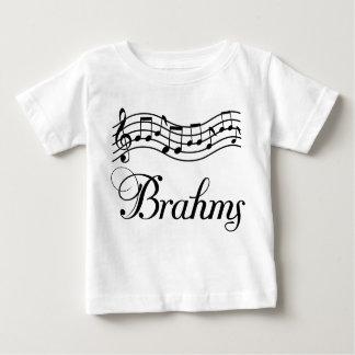 Fun Classical Music Brahms Music Notes Baby T-Shirt