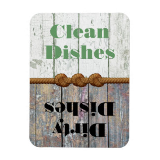 Fun Clean / Dirty Dishwasher Magnet