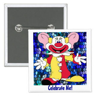 Fun Clown Pin