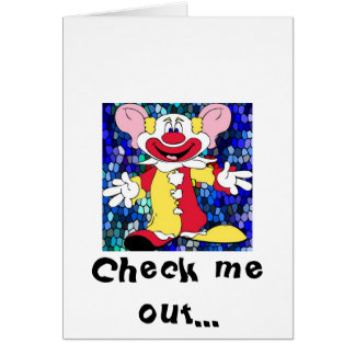 Fun Clown Card