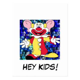 Fun Clown Postcard