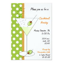 fun Cocktail party Invitation