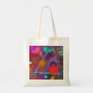 Fun Color Astro Chart Abstract Party Favor Gift Tote Bag