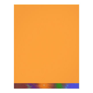 Fun Color Astro Chart Colorful Abstract Art Letterhead
