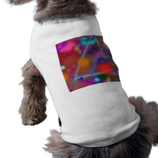 Fun Color Astro Chart Colorful Abstract Art T-Shirt